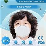 $23.52 - 10 x <b>KN95 Children</b> Face <b>Mask</b> Anti-fog <b>Child</b> PM2.5 <b>Mask</b> ...