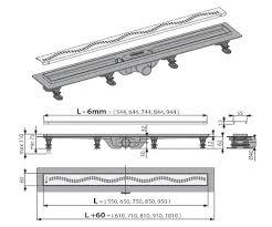 <b>Душевой лоток Alcaplast</b> Simple <b>APZ8</b>-<b>850M</b> купить в Москве по ...