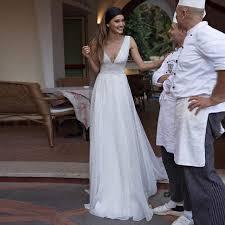 Online Shop <b>LORIE</b> 2019 <b>Beach</b> Wedding Dresses Vintage V Back ...