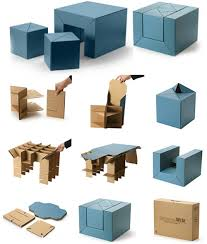 cfs eco friendly cardboard kids furniture set images courtesy emmo home child friendly furniture
