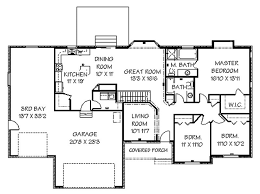 Western Home Decorating  Ranch House PlansRanch House Plans