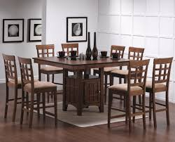 Tall Dining Room Sets High Dining Room Sets Counter Height Table Dining Room 9 Piece