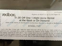 Can Redbox promo codes and gift cards be used for streaming a ...