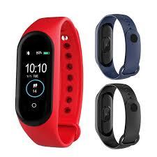 M4 Sports <b>Smart Watch</b> Waterproof <b>Smartwatch</b> Blood Pressure ...