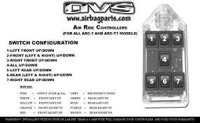 pro1 63 72 air ride bag suspension kit pro performance Air Bag Suspension Wiring Diagram pro2 air management wiring diagram · accuair vu4 installation manual · arc7 manual Universal Air Suspension Install