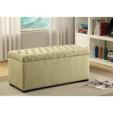 Red Barrel Studio Cedarvale Upholstered <b>Storage Bench</b>, <b>Brown</b>