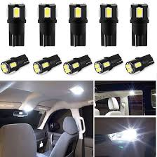 <b>10pcs T10 W5W Led</b> Bulb 194 168 Car Interior Light For SEAT Leon ...