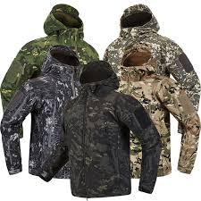 <b>Winter Men</b> Hiking Jacket Army Tactical Fleece Coats 22 Colors <b>S</b> ...