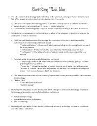 english short story essay ideas  essay science and spirituality essay short story thesis inshoragroup com