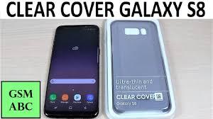 <b>CLEAR COVER Samsung</b> Galaxy S8, S8+ | Unbox - YouTube