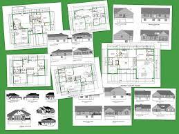 EZ House Plans House Plans Package   Value