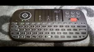 <b>Rii RT726 Bluetooth</b> 2 4Ghz Dual Wireless Keyboard Air Mouse ...