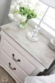 ideas bedside tables pinterest night: nightstand chalk paint tutorial the grace house