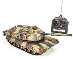 Купить <b>радиоуправляемый танк HuanQi</b> M1A2 Abrams 1:28 ...