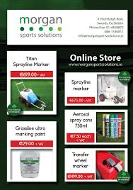 online store flyer frontmorgan sports solutions online store flyer front