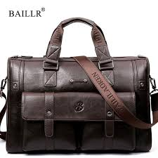 <b>Baillr Brand</b> High Capacity <b>Men Briefcase</b> Business Messenger ...