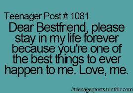 Best Friend Quotes Tumblr | awww, best friend, best friends ... via Relatably.com