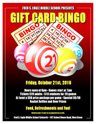 news updates fred s engle middle school pto gift card bingo is friday 21 2016