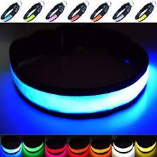 Fun Pets <b>Super Bright</b> USB <b>Rechargeable LED</b> Dog Safety Collar ...