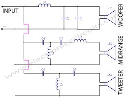 way crossover circuit diagram   wiring schematics and diagrams way crossover work circuit diagram