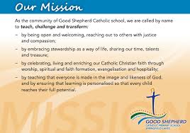vision mission good shepherd mission statement png