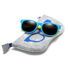 <b>With Bag Rubber TR90</b> Children HD Polarized Sunglasses Kids ...