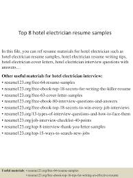 electrician resume sample format cipanewsletter electrician resume sample format