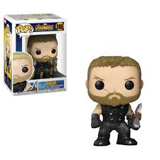<b>Фигурка Funko POP</b>! Bobble: Marvel: <b>Avengers Infinity</b> War: Thor ...