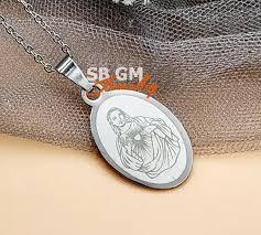 SBGM High Quality Stainless Steel <b>316L Necklace</b>, Jesus <b>Pendant</b> ...