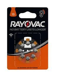 <b>Батарейки</b> для слуховых аппаратов 310 mAh <b>RAYOVAC</b> ...