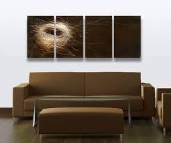 mirror wall decor circle panel:  fascinating handmade metal wall art pieces