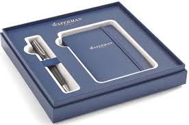 Набор: блокнот + <b>шариковая ручка</b> Waterman Expert 3 <b>Essential</b> ...