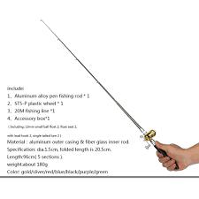 Other Fishing Rod & Reel Combos <b>Mini Portable Pocket</b> Aluminum ...