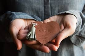 <b>DIY</b> Leather <b>Heart</b> Keychains | Pretty Prudent