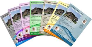 blue line it solutions flyers business cards mailers pamphelets and more all available now