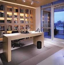 modern office flooring interior modern home office design with steel ceiling lighting and solid concrete flooring best flooring for home office