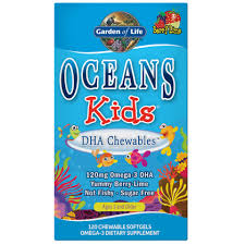 <b>Fish</b> Oil for Kids with DHA <b>Chewables</b> | Garden of Life