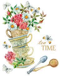Image result for high tea clip art