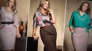 Resultado de imagem para roupas para trabalhar plus size