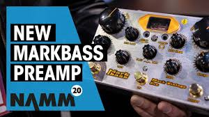 Markbass NAMM <b>2020</b> | <b>New</b> Mark <b>Vintage</b> Preamp | Thomann ...