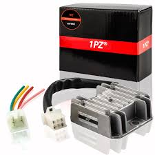 1PZ RV2-W04 4 Wires <b>Voltage Regulator</b> Rectifier for <b>Motorcycle</b> ...