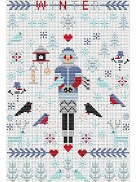 "<b>Набор для вышивания</b> крестом ""Mini Winter"" <b>Riverdrift</b> House ..."