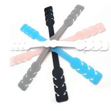 China Silicone <b>Adjustable Masks</b> Straps <b>Extended</b> Buckle - China ...