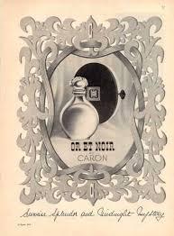 <b>Caron or Et Noir</b> Perfume Bottle (1951) (With images) | Perfume ad ...