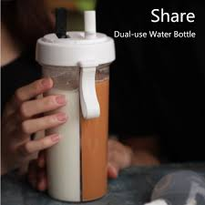 Saintgace Outdoor Water Bottle Travel <b>Creative Dual use</b> Water ...