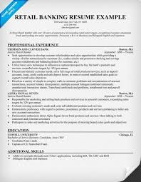 retail banking resume example retail banking resume example retail resume examples for banking jobs