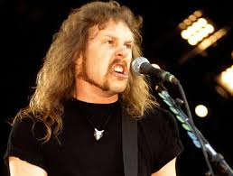 James Hetfield moustache Let's Not Get Carried Away