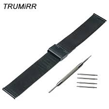 16mm <b>18mm 20mm 22mm Milanese</b> Watch Band for Timex ...