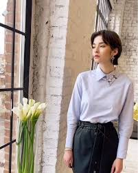 Vrubashke - Женская рубашка с застежкой сзади   Модель...