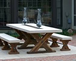 dining table concrete top tables ideas